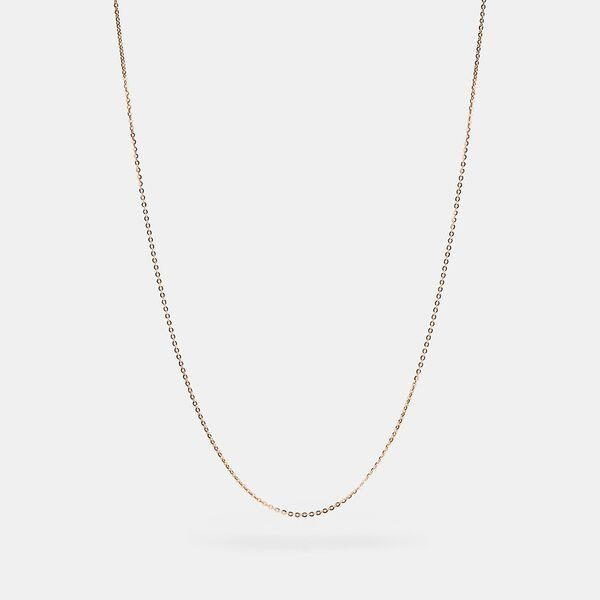 Fashion 4 Coach Collectible Chain Necklace