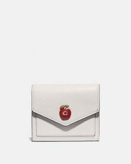 Fashion 4 Coach Small Wallet With Apple Print