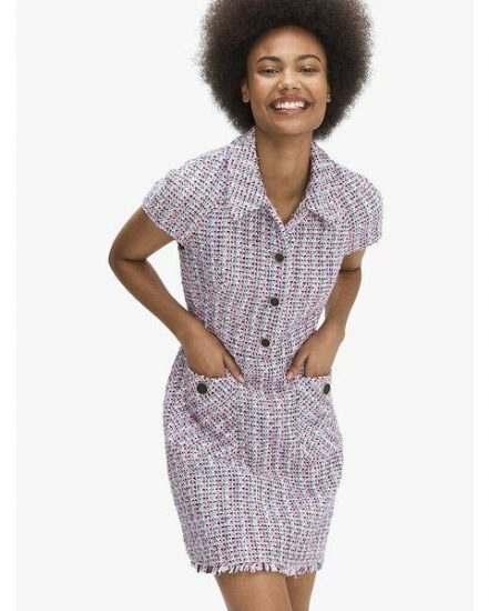 Fashion 4 - enchanted tweed shirtdress
