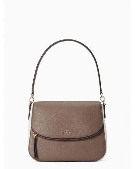 Fashion 4 - jackson colorblock medium flap shoulder bag