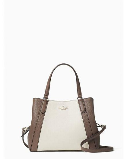 Fashion 4 - jackson colorblock medium triple compartment satchel