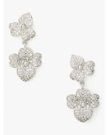 Fashion 4 - pave statement drop earrings