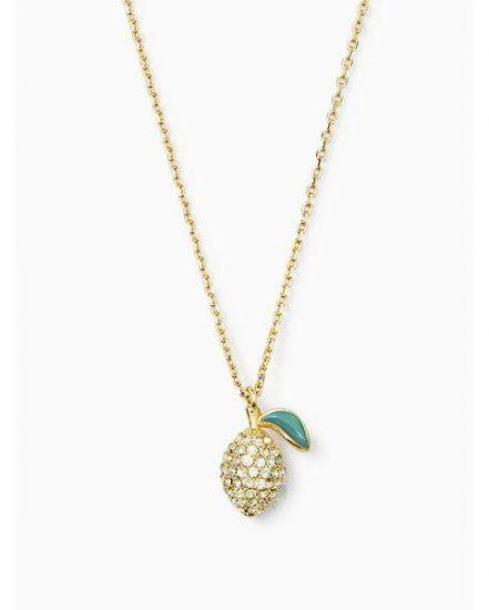 Fashion 4 - picnic perfect lemon mini pendant