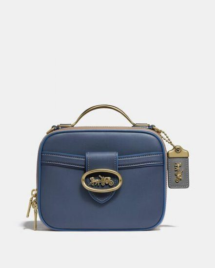 Fashion 4 Coach Riley Lunchbox Bag In Colorblock