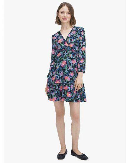 Fashion 4 - floral swirl dress
