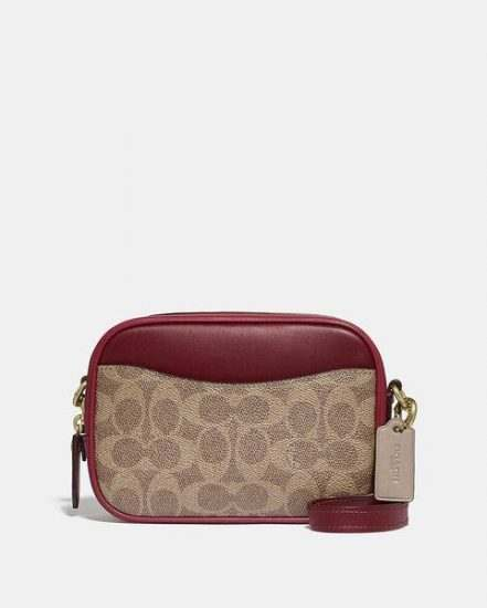 Fashion 4 Coach Camera Bag 16 In Colorblock Signature Canvas