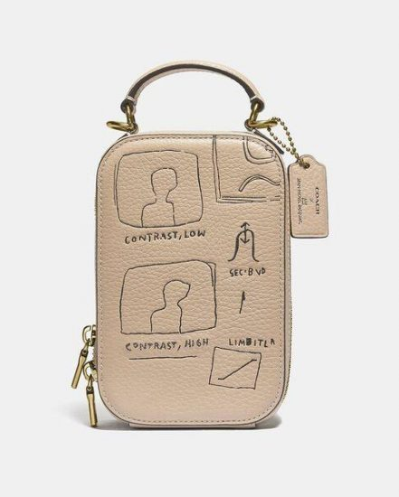 Fashion 4 Coach Coach X Basquiat Contrast Alie Camera Bag