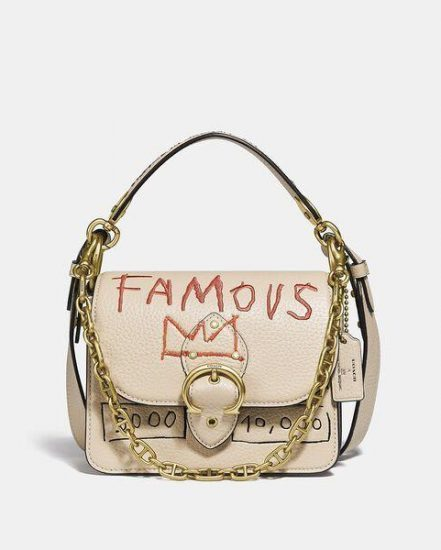 Fashion 4 Coach Coach X Basquiat Five Beat Shoulder Bag 18