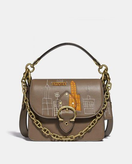 Fashion 4 Coach Coach X Basquiat Mecca Beat Shoulder Bag 18