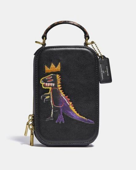 Fashion 4 Coach Coach X Basquiat Pez Dispenser Alie Camera Bag With Snake Handle