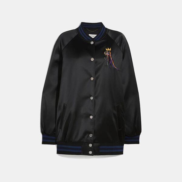 Fashion 4 Coach Coach X Jean-Michel Basquiat Oversized Varsity Jacket