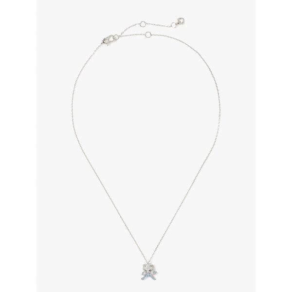 Fashion 4 - pretty kitty pavé mini pendant