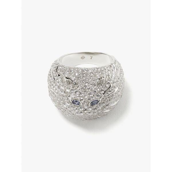 Fashion 4 - pretty kitty pavé ring