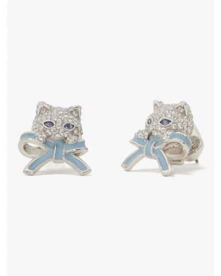 Fashion 4 - pretty kitty pavé studs