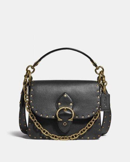 Fashion 4 Coach Beat Shoulder Bag 18 With Rivets