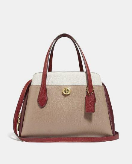 Fashion 4 Coach Lora Carryall 30 In Colorblock