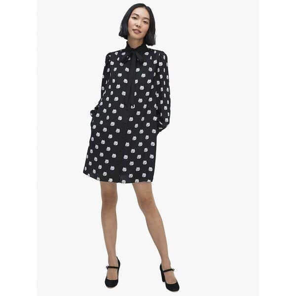 Fashion 4 - cat dot shirtdress