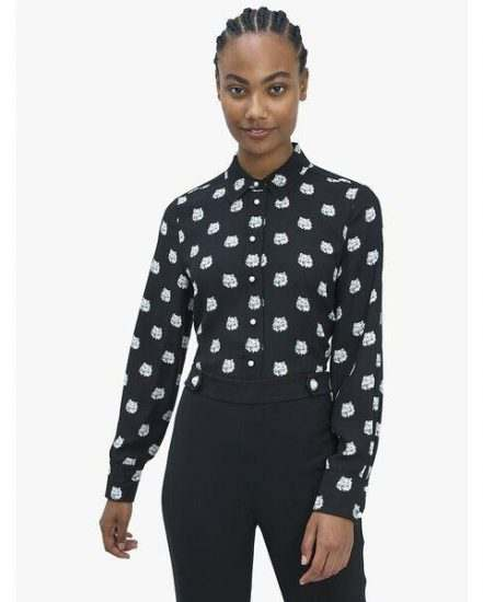 Fashion 4 - cat dot top
