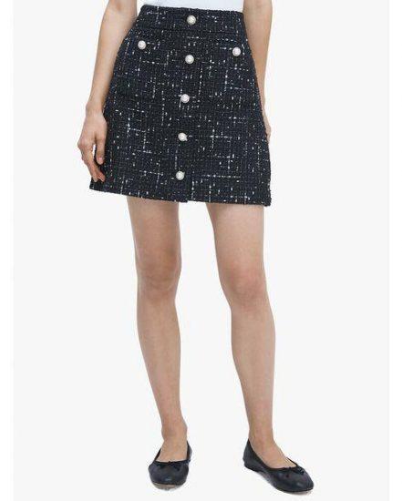 Fashion 4 - embellished tweed skirt