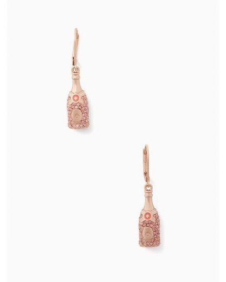 Fashion 4 - make magic champagne drop earrings