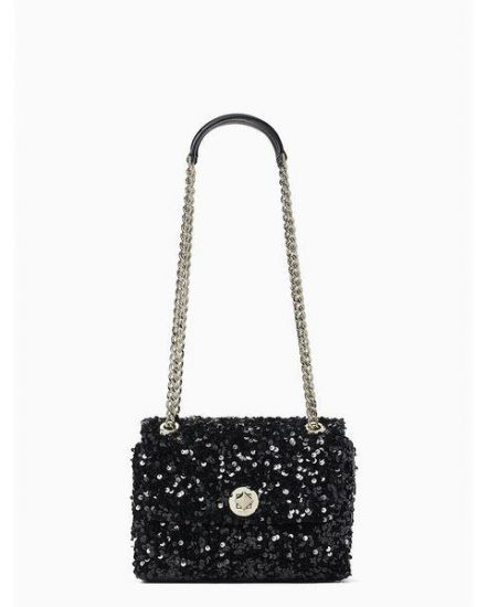 Fashion 4 - natalia sequin small flap crossbody