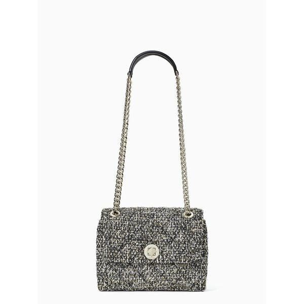 Fashion 4 - natalia tweed small flap crossbody
