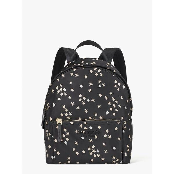 Fashion 4 - nylon city pack confetti stars medium backpack