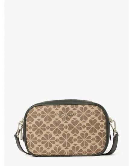 Fashion 4 - spade flower coated canvas infinite medium camera bag