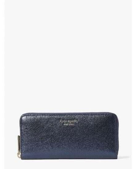 Fashion 4 - spencer metallic slim continental wallet
