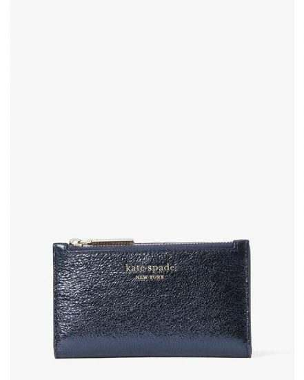 Fashion 4 - spencer metallic small slim bifold wallet