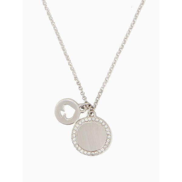 Fashion 4 - spot the spade pave charm pendant