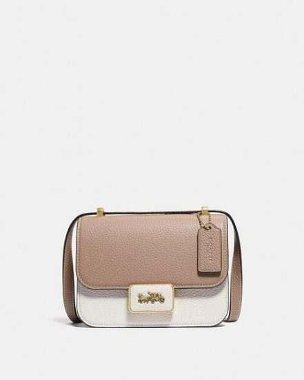 Fashion 4 Coach Alie Shoulder Bag 18 In Colorblock