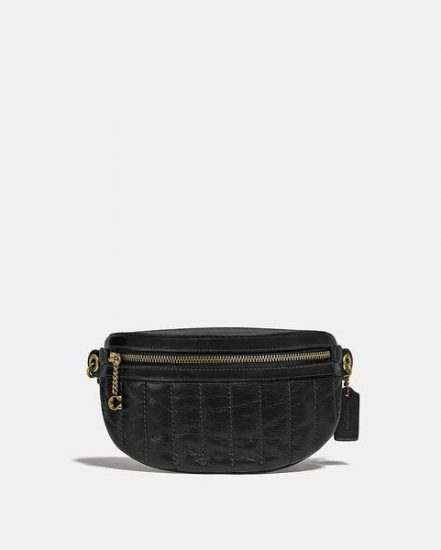 Fashion 4 Coach Chain Belt Bag With Quilting