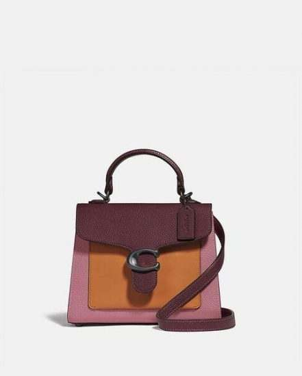 Fashion 4 Coach Tabby Top Handle 20 In Colorblock