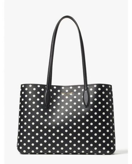 Fashion 4 - all day domino dot large tote
