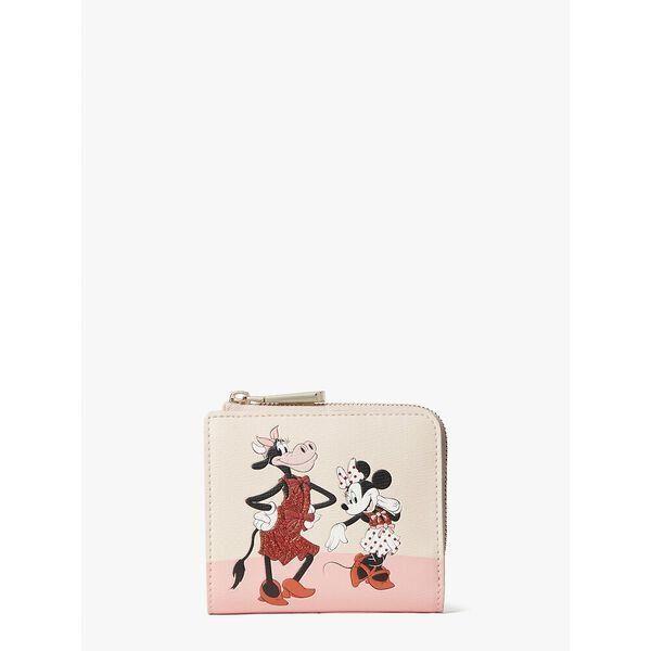 Fashion 4 - disney x kate spade new york clarabelle & friends small bifold wallet