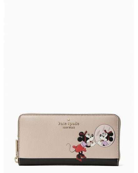 Fashion 4 - disney x kate spade new york minnie large continental