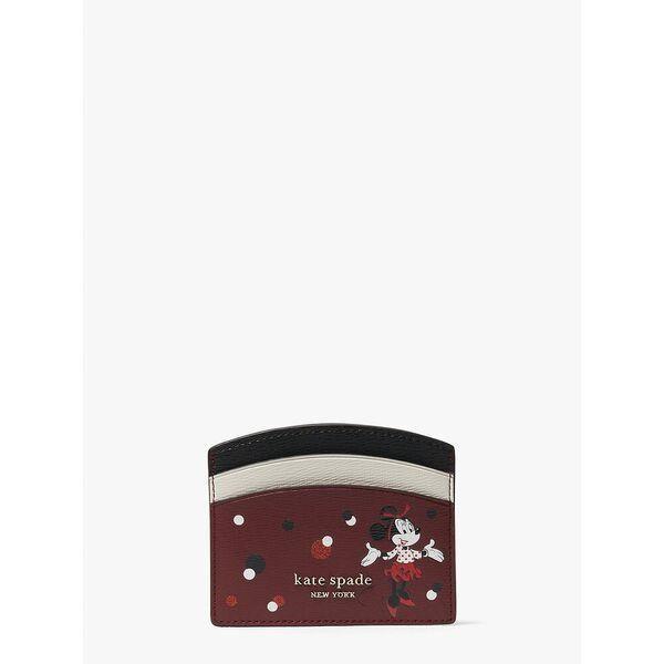 Fashion 4 - disney x kate spade new york minnie mouse cardholder