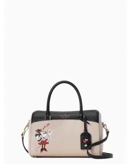 Fashion 4 - disney x kate spade new york minnie mouse med duffel bag