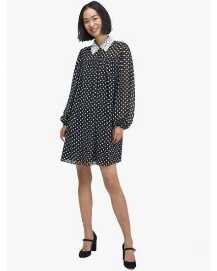 Fashion 4 - domino dot swing dress