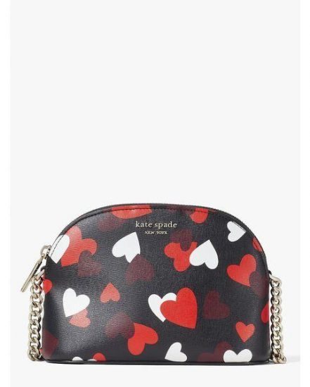 Fashion 4 - spencer celebration hearts small dome crossbody