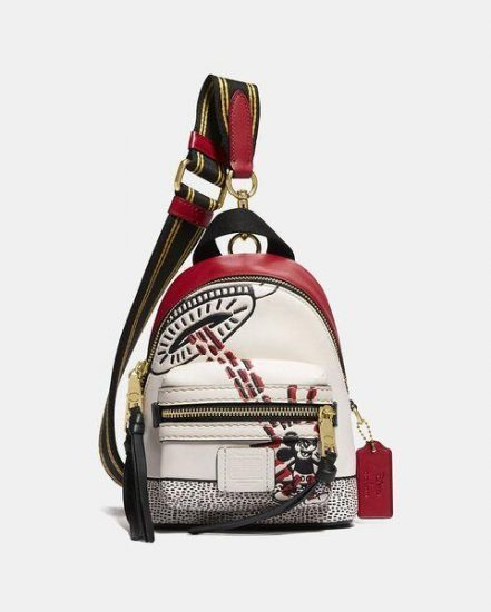 Fashion 4 Coach Disney Mickey Mouse X Keith Haring Academy Backpack 15