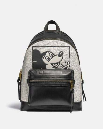 Fashion 4 Coach Disney Mickey Mouse X Keith Haring Academy Backpack