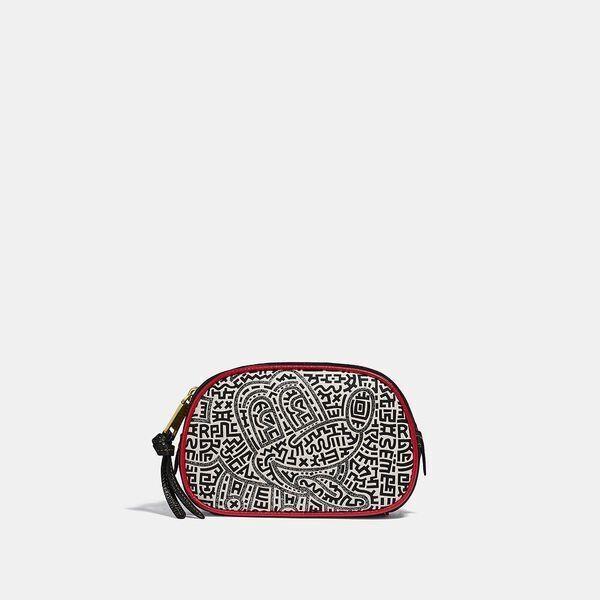 Fashion 4 Coach Disney Mickey Mouse X Keith Haring Badge Camera Belt Bag