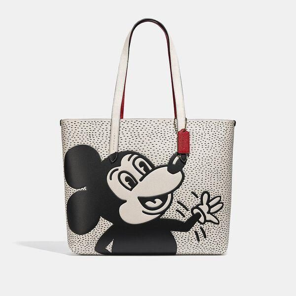 Fashion 4 Coach Disney Mickey Mouse X Keith Haring Highline Tote