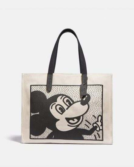 Fashion 4 Coach Disney Mickey Mouse X Keith Haring Tote 42