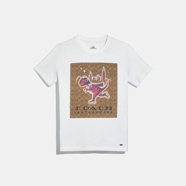 Fashion 4 Coach Rexy City Signature T-Shirt