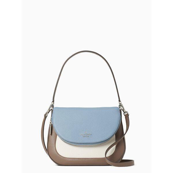 Fashion 4 - leila colorblock medium flap shoulder bag