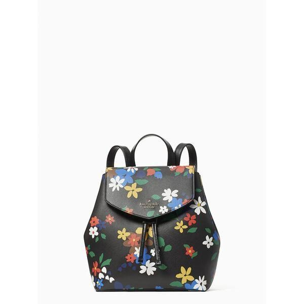 Fashion 4 - lizzie sailing floral medium flap backpack