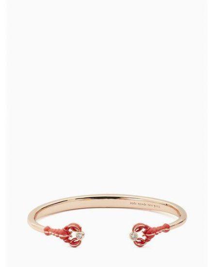 Fashion 4 - love lobster hinged cuff